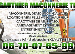 GAUTHIER MACONNERIE TP